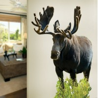 Moose Front Wall Decal