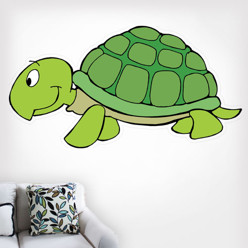 Turtle 2 Wall Decal