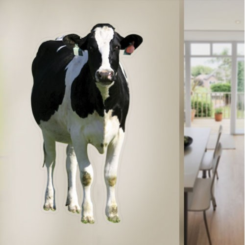Dairy Cow Wall Decal
