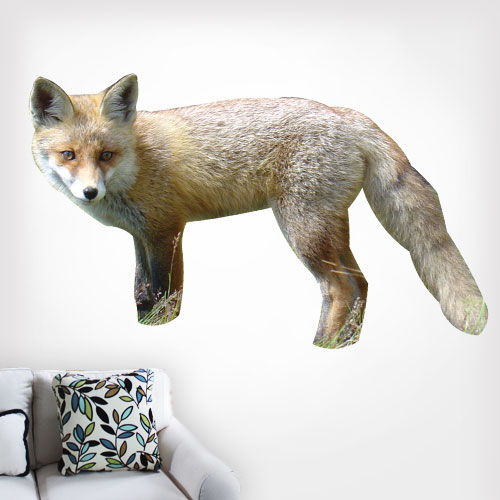 Red Fox Wall Decal