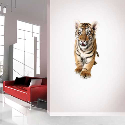 View Product Tiger Cub Wall Decal