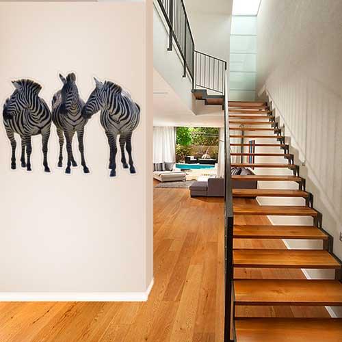Zebra 2 Wall Decal