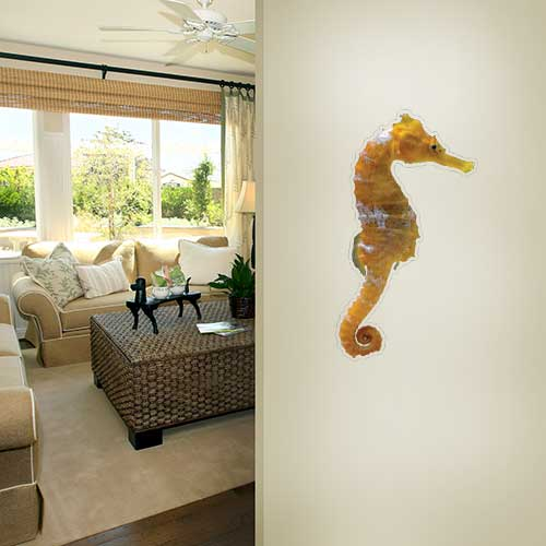 Sea Horse Wall Decal