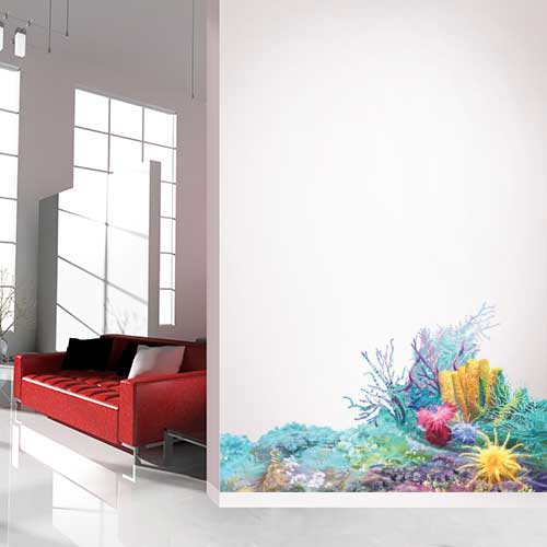 Coral 2 Wall Decal