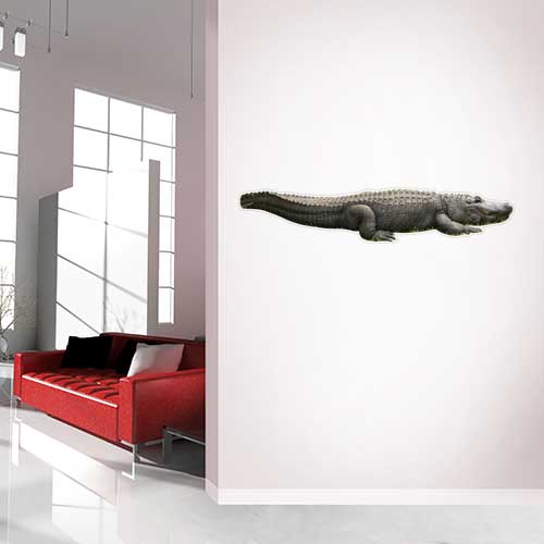 Alligator Wall Decal