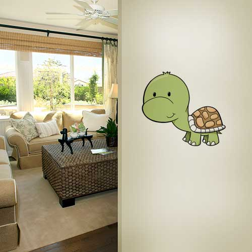 Baby Turtle Wall Decal