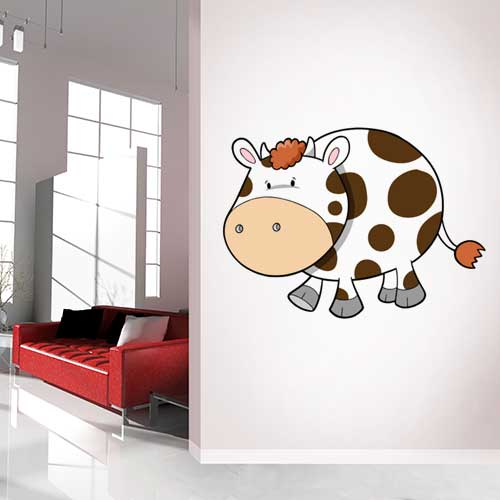 Baby Cow Wall Decal