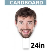 "24"" Personalized Cardboard Big Head - $19.99"