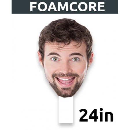 """24"""" Personalized Foamcore Big Head"""