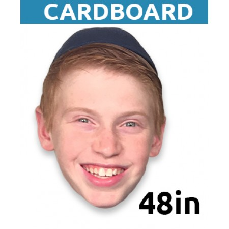 "48"" Personalized Cardboard Big Head"