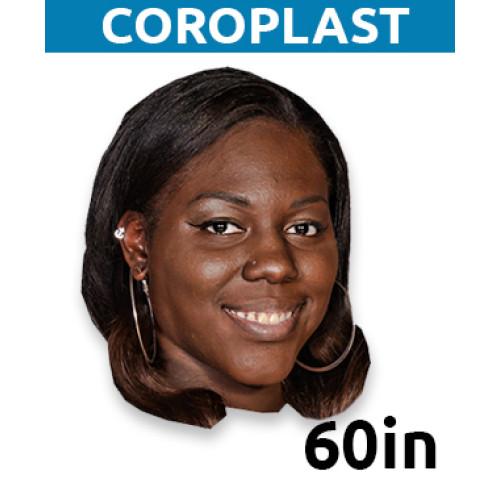 "60"" Personalized Coroplast MONSTER Big Head"