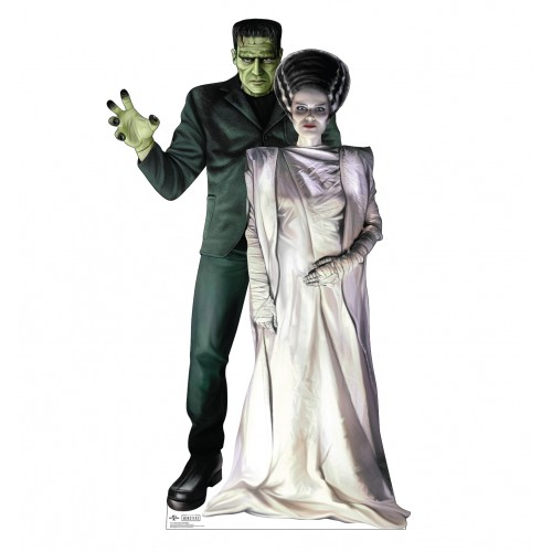 Frankenstein & His Bride (Monsters)