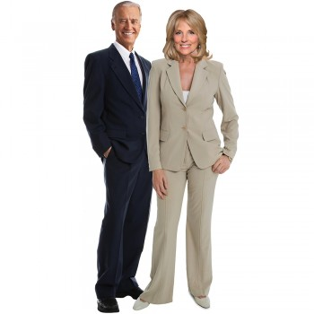 Joe and Jill Biden Cardboard Cutout - $0.00