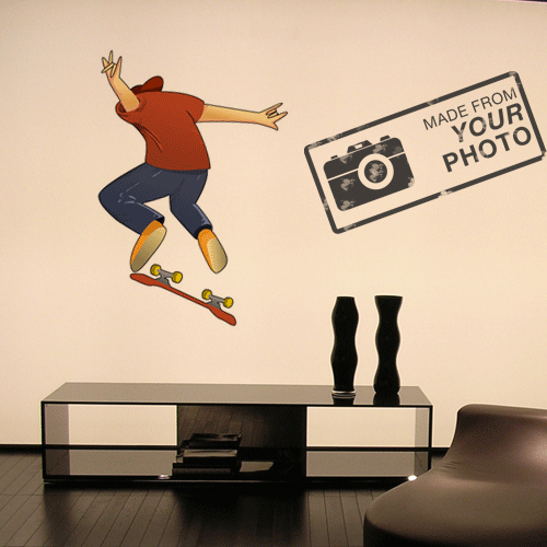Custom Vinyl Wall Decal