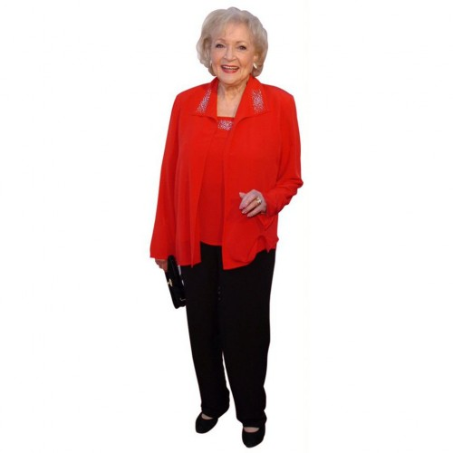 Betty White Cardboard Cutouts