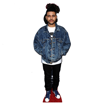 The Weeknd Cardboard Cutouts