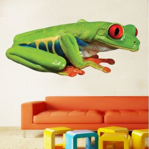 Amphibian Wall Decals