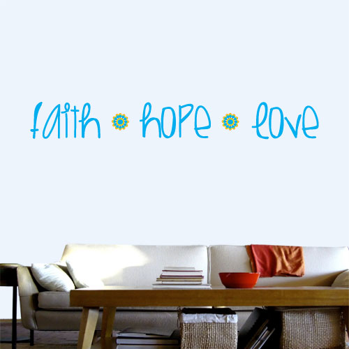 Spiritual  Quote Decals