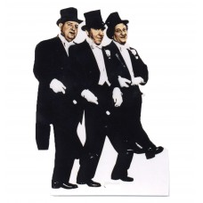 Three Stooges Cardboard Cutouts
