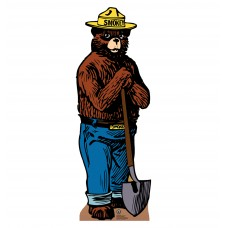 Smokey the Bear Cardboard Cutouts